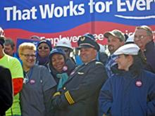 Click to view album: Employee Free Choice Rally