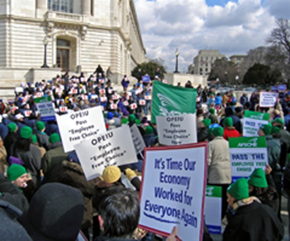 Employee Free Choice Rally